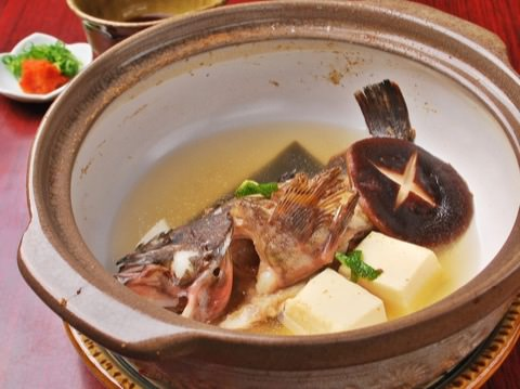 魚の酒むしの写真
