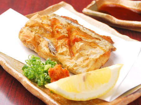 太刀魚の唐揚げの写真