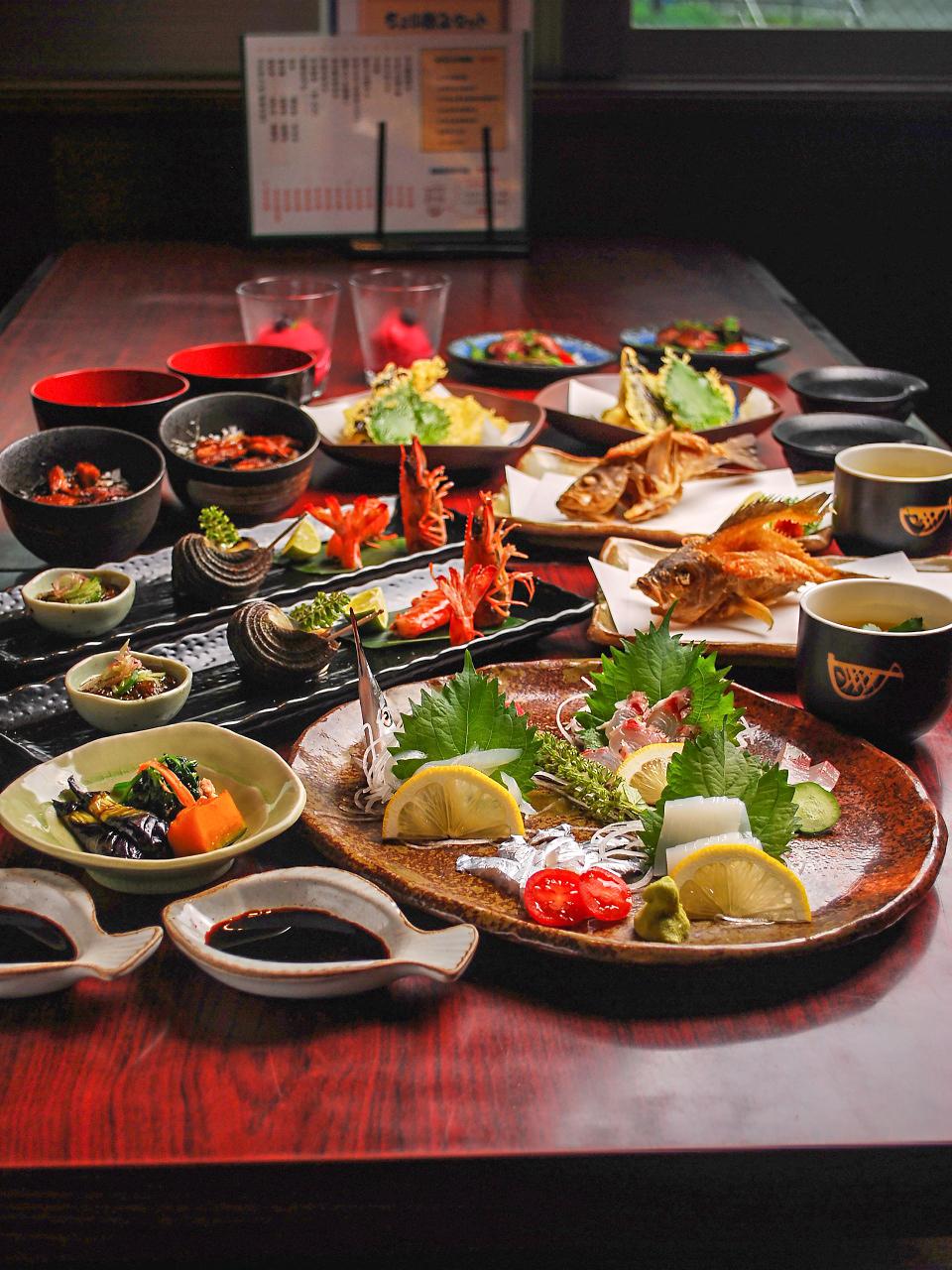 広島のおもてなし料理で美味しいひとときを。