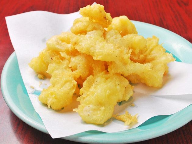 白肉の天ぷらの写真
